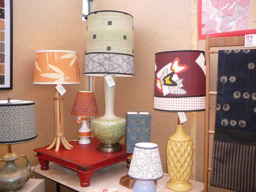 Kimono Art Studio - Plaza Art Fair Lamps